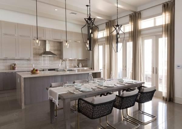 Стильные прозрачные шторы итюль как альтернатива обычным занавескам— 35 фото вдизайне интерьеров