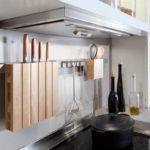 Устанавливаем рейлинги для кухни— 25 фото винтерьере