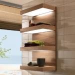 Полочки для ванной комнаты (39 фото) – стандартный атрибут дизайнера