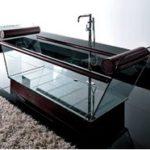 Прозрачная ванна (39 фото): секреты выбора.