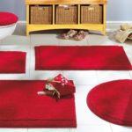 Самые интересные и модные коврики для ванной и туалета (41 фото)