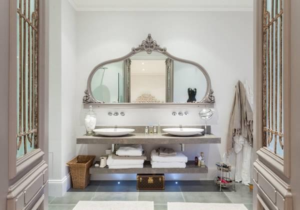 Выбираем стильное зеркало вванную комнату— 30 фото исоветы