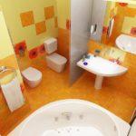 Дизайн совмещенного санузла (42 фото): идеи для красивых интерьеров