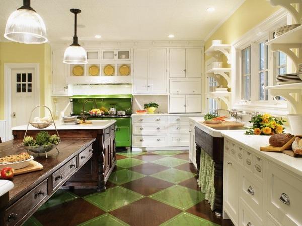 30 уютных кухонь вдеревенском стиле