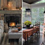 Уютный осенний интерьер— подборка идей декора и28 фото