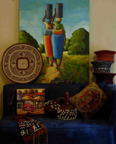 Африканский стиль в интерьере – эмиграция экзотики!