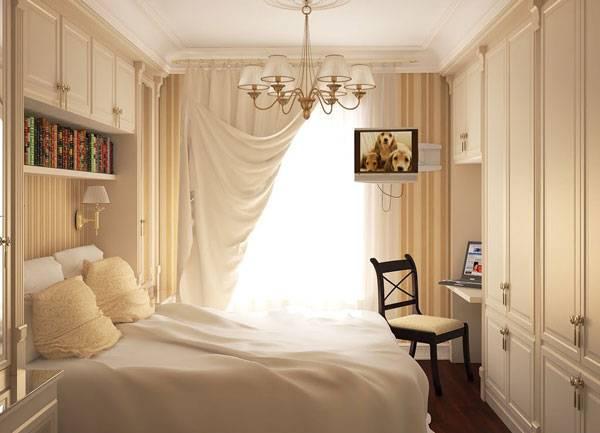 Маленькая спальня: 25 идей оформления