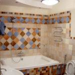 Обделка ванной комнаты (44 фото): самые интересные варианты
