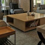 Ретро стиль в оформлении интерьера гостиной комнаты