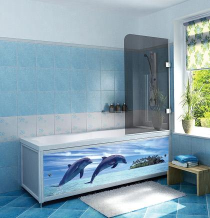 Экран для ванной комнаты (44 фото): самостоятельный