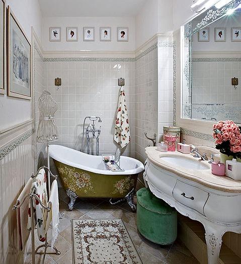 Ванная в стиле прованс (42 фото): юг Франции в вашем доме