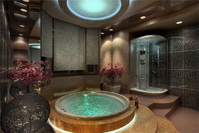 Большая ванна (41 фото): особенности монтажа