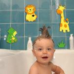 Наклейки для ванной комнаты (50 фото) — красивый декор своими руками