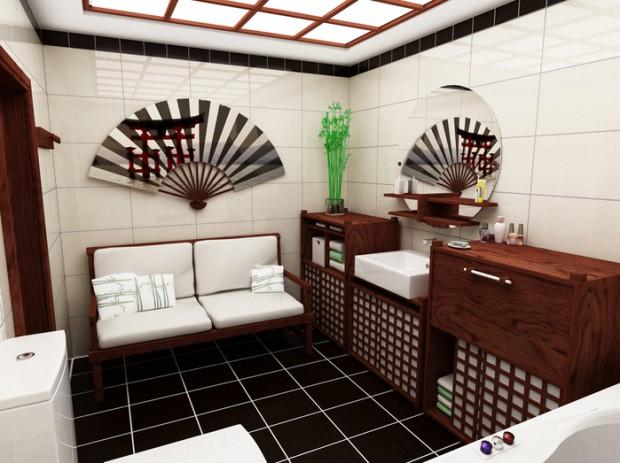 Ванная в японском стиле (48 фото): гармония и дзен