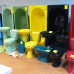 Цветные ванны (38 фото) – выбираем настроение