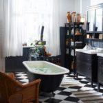 Плитка для ванной комнаты— 33 фото дизайна ванных