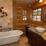 Ванная в стиле кантри (59 фото): стильный дизайн