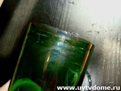 Мастер-класс: как разрезать бутылку ниткой — ничего сложного!