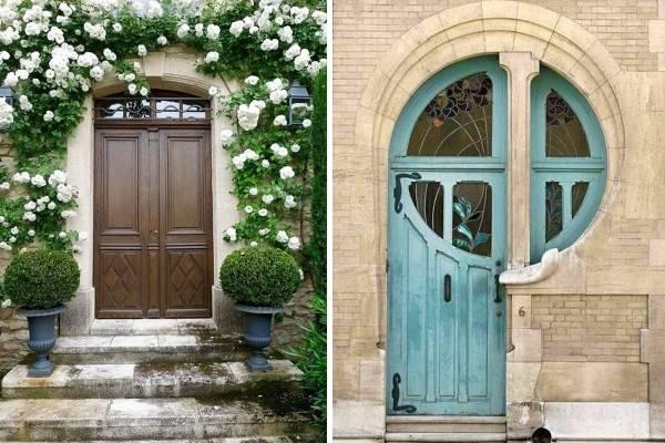 Современные входные двери для красоты ибезопасности