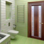 Установка дверей в ванной комнате: последовательность и видео-урок