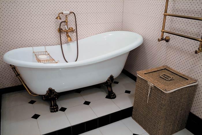 Ванна в стиле ретро (39 фото): модная тенденция