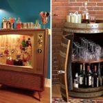 Домашний мини-бар— идеальное решение для небольшого жилища