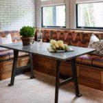 Уютный кухонный уголок для дома— 18 фото-примеров винтерьере