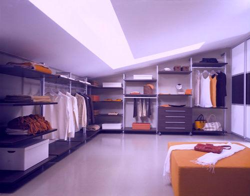 Гардеробная комната – все вещи под рукой!