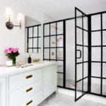 Стеклянные двери для ванной— интересные решения на25 фото винтерьере