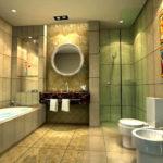 Современные способы отделать потолок в ванной комнате (54 фото)