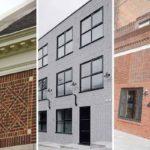 Отделка фасада кирпичом: виды материалов икладки + 34 фото домов