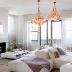 Белая мебель для гостиной— 35 фото вдизайне интерьера