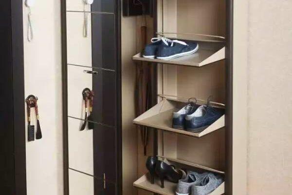 Обувница в прихожую — незаменимый и эргономичный предмет интерьера на 42 фото 42