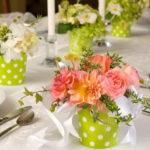 Как украсить праздничный стол на 8 марта