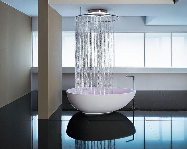 Ничего лишнего — минимализм в ванной