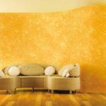 Современная отделка стен декоративной штукатуркой— 22 фото интересных вариантов