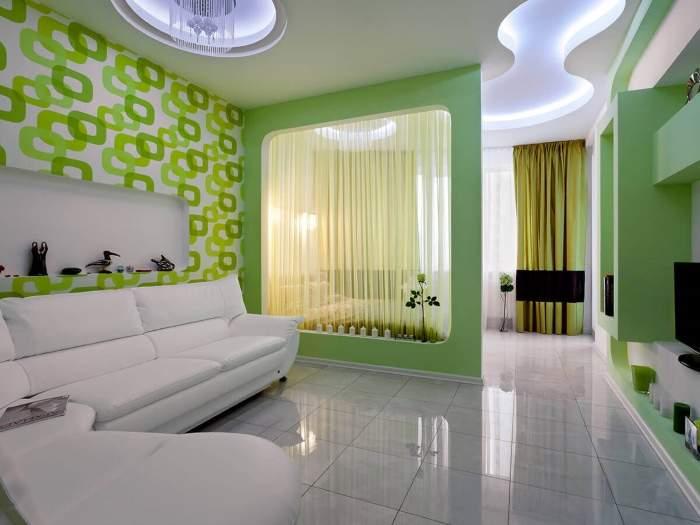 Современный дизайн двухкомнатной квартиры для семьи сребенком— подборка 22 фото