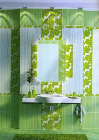 Дизайн кафельной плитки (59 фото): идеи для ванной, туалета и кухни