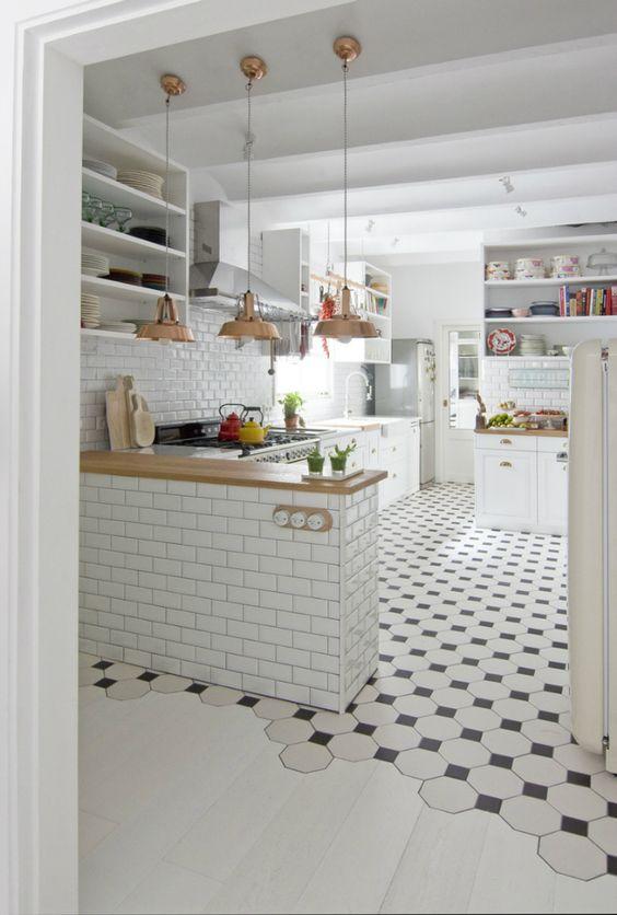 Плитка для кухни напол— практические советы повыбору