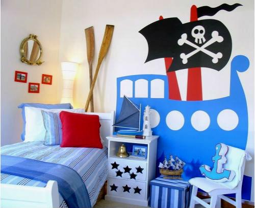 Детская комната в морском стиле — легко!