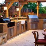 Летняя кухня сверандой— разновидности исоветы пообустройству