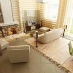 Как оформить интерьер частного дома: советы и23 фото