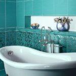 Кафельная плитка для ванной комнаты (44 фото): на чем остановить свой выбор