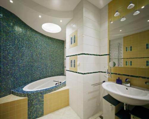 Монтируем потолок из гипсокартона в ванной (42 фото): особенности и технология установки