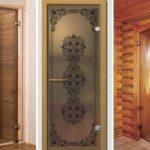Качественные стеклянные двери для сауны ибани— обзор с18 фото