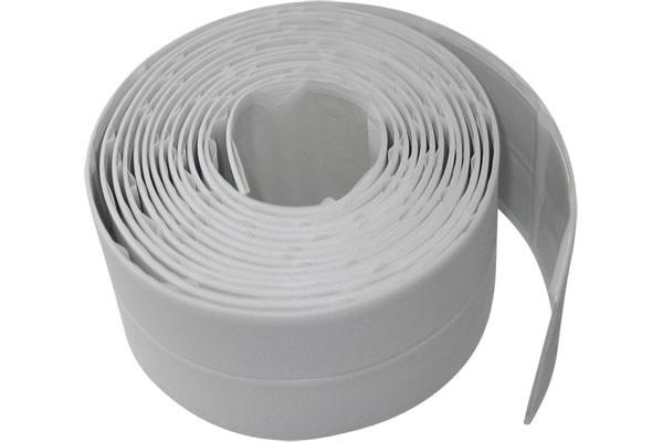 Бордюрная лента для ванны – самый простой способ герметизации стыка