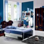 Шкаф в детскую комнату для мальчика. 7 стильных вариаций