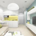 Дизайн маленькой квартиры студии: зонирование, лайфхаки ихитрости