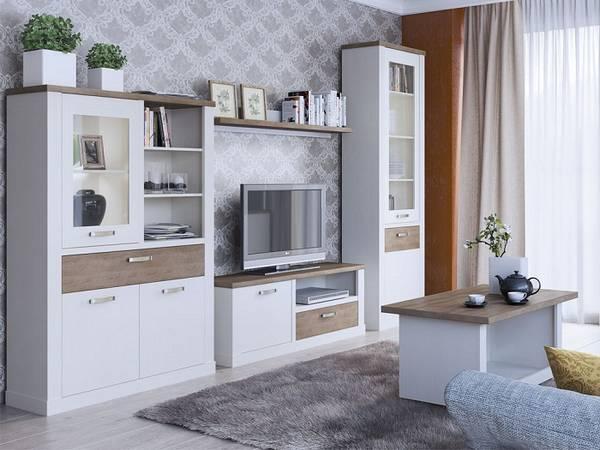 Модульная мебель для гостиной— тенденции оформления на32 фото