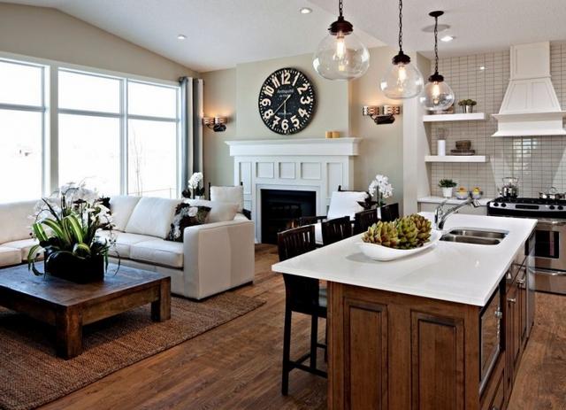 Дизайн кухни вчастном доме: 80 фото-идей для вдохновения